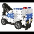 Rendőrös, vödrös építőjáték 3 éves kortól, Hero Squad Police drum - 9 in 1 - Clics