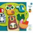 Oski különleges fejlesztő puzzle, kirakó 1 éves kortól - Djeco