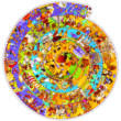 A történelem, 350 db-os kör alakú puzzle, kirakó 7 éves kortól - Djeco