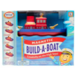 Mágneses hajó építő játék 3 éves kortól, Magnetic Build-a-Boat - Popular Plaything