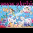 The magic of the mermaids, 60db kirakó 1 db Schleich/Bayala figurával - Schmidt Spiele