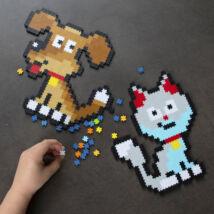 Jixelz 700 puzzle kirakó háziállatok, Jixelz Playful Pets - Fat Brain Toys