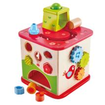 Activity Mókás kocka 1 éves kortól, Friendship activ cube - HAPE