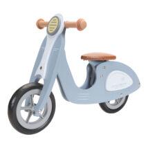Robogó Scooter, Kék - Scooter hout Blue - Little Dutch