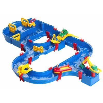 Vízi pálya zsilipekkel és kikötővel 3 éves kortól - AquaPlay