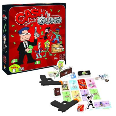 Cash'n Guns, stratégiai és kommunikációs társasjáték 10 éves kortól - Asmodee