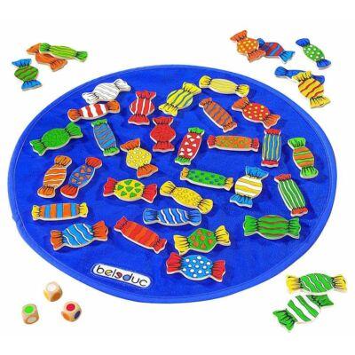 Candy, Cukorkák figyelemfejlesztő társasjáték 4 éves kortól - Beleduc