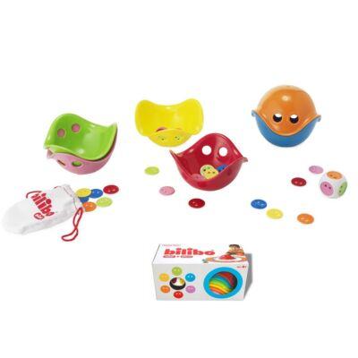 Bilibo készség-, mozgás-, egyensúlyfejlesztő játékszett - Gamebox