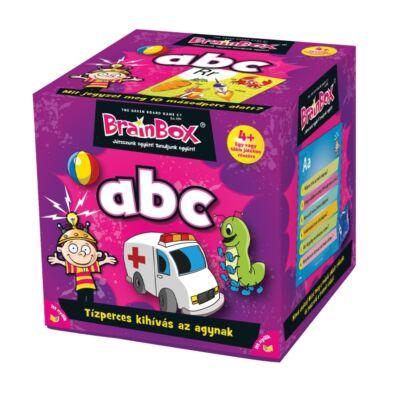 Brainbox ABC, egyedüli- vagy társasjáték 4 éves kortól - Brainbox