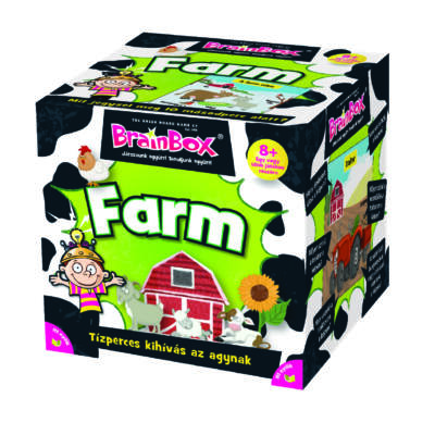 Brainbox A farm, egyedüli- vagy társasjáték 8 éves kortól - Brainbox