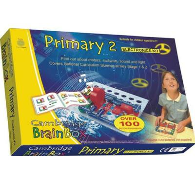 BrainBox elektronikai Alap készlet (Primary 2) - Cambridge BrainBox