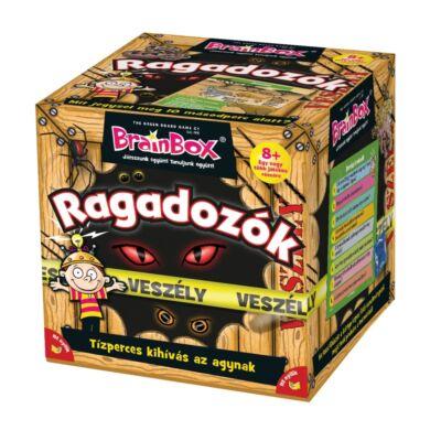 Brainbox RAGADOZÓK, egyedüli- vagy társasjáték 8 éves kortól - Brainbox