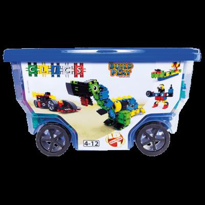 Rollerbox építőjáték 3 éves kortól, 400 db-os, Rollerbox 15 in 1 - Clics