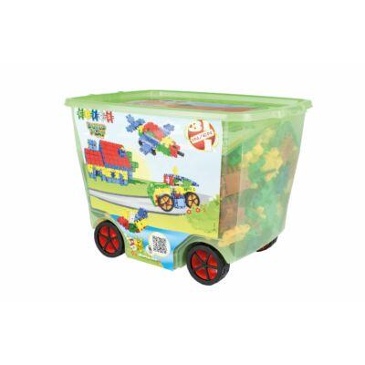 Rollerbox építőjáték 3 éves kortól, 600 db-os, Big Rollerbox 3 in 1 - Clics