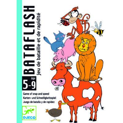 Bataflash - gyorsasági kártyajáték 4 éves kortól - Djeco
