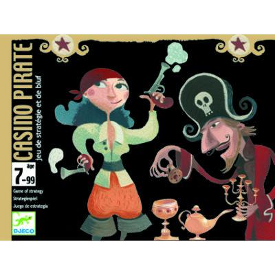 Casino Pirate - stratégiai blöffölős kártyajáték 7 éves kortól - Djeco