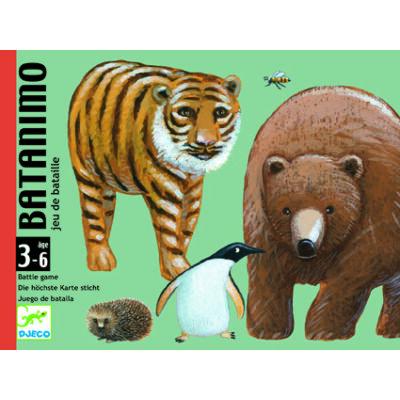 Batanimo kártyajáték 3 éves kortól - Djeco