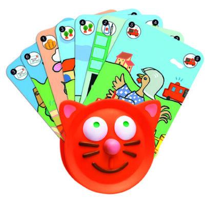 Kártyatartó a kicsi kezekhez - Djeco