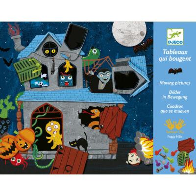 Kísértetek háza, mozgatható képkészítő készlet 4-8 éves korig - Djeco