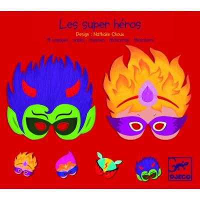 Maszk - Szuperhős (4 Masks superheroes) - Djeco