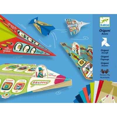 Origami repülők, Origami planes 7-15 éves korig - Djeco