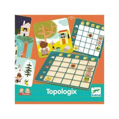 Topologix, logikai tér-irány oktató játék 4 éves kortól - Djeco