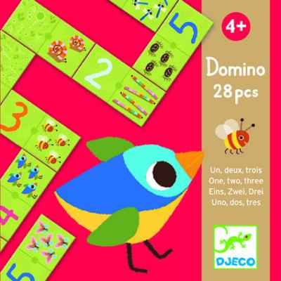 1, 2, 3 dominó - Dominójáték 4 éves kortól - Djeco