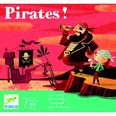 Pirates! Kalózok stratégiai társasjáték 7 éves kortól - Djeco