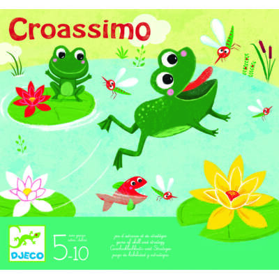 CROASSIMO, Brek-Brek kézügyességet fejlesztő társasjáték 5 éves kortól - Djeco