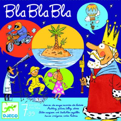 Bla bla bla, kommunikációs társasjáték 7 éves kortól - Djeco