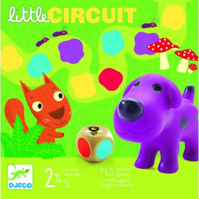 Egy kis színlépegetés társasjáték 2 és fél éves kortól, Little circuit - Djeco