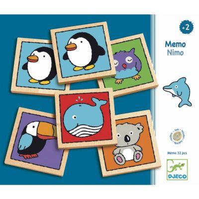 Memória játék - Maci-mackó - Mémo-nimo  - Djeco