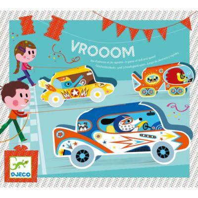 Partijáték - Autóverseny - Vrooom - Djeco