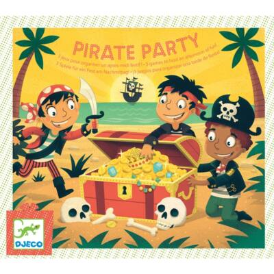 Partijáték - Kalóz kaland - Pirate Party - Djeco