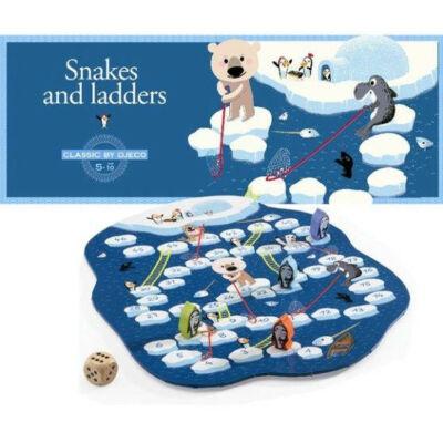 Kígyók és létrák, klasszikus társasjáték 5 éves kortól - Djeco