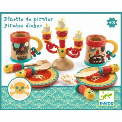 Kalózok étkészlete - Dishes of pirates - Djeco