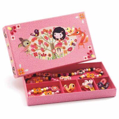 Ékszerkészlet - Erdei virágok - Wood flower jewellery - Djeco