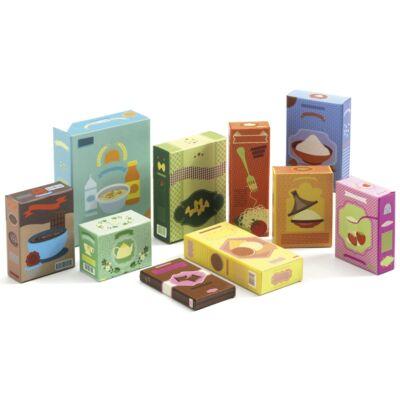 Boltos, vásárlós - Élelmiszerek - Grocery set - Djeco