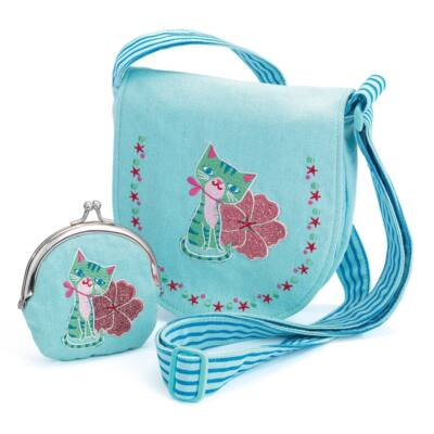 Cica, Kistáska pénztárcával - Kitten, bag and purse 3 éves kortól - Djeco