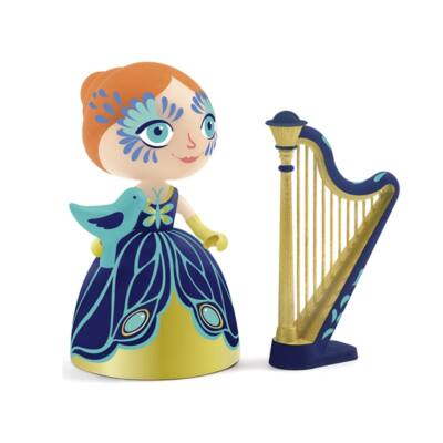 Elisa hercegnő hárfával - Djeco/Arty Toys