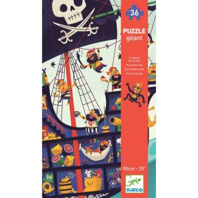 Óriás puzzle - Kalózhajó - The pirate ship - Djeco