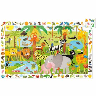 Dzsungel, 35 db-os puzzle - Jungle - Djeco