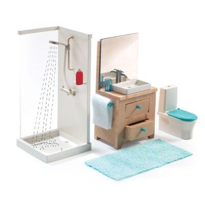Berendezés - A fürdőszoba -The bathroom - Djeco