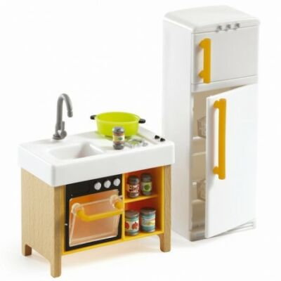 Berendezés - A kompakt konyha - Compact Kitchen - Djeco