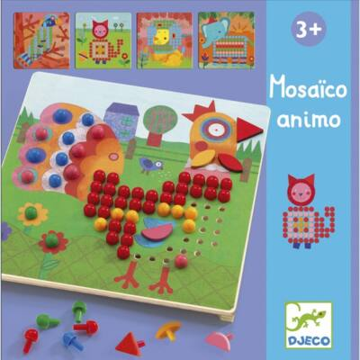 Pötyi mozaik - Állatok - Mosaico Animo - Djeco