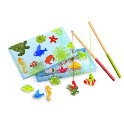 Mágneses horgászat, tengeri élőlényes - Fishing dream - Djeco