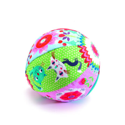 Lufi labda textilhuzattal, Garden Ball - Djeco