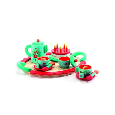 Fox születésnapi teázós készlete, Fox's party 3 éves kortól - Djeco