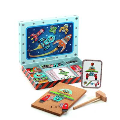 Űrhajós kalapálós játék - Tap tap Space 4 éves kortól - Djeco