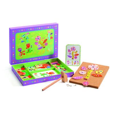 Kertes kalapálós játék - Tap tap Garden 4 éves kortól - Djeco